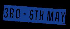 3 – 6 May 2018